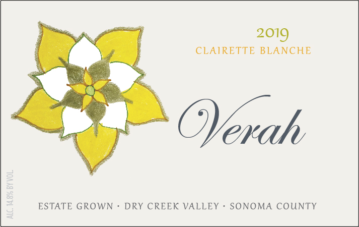 Product Image for 2019 Verah Clairette Blanche Estate Dry Creek Valley