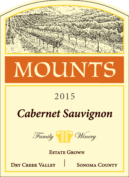 2015 Mounts Cabernet Sauvignon, Estate Grown Product Image