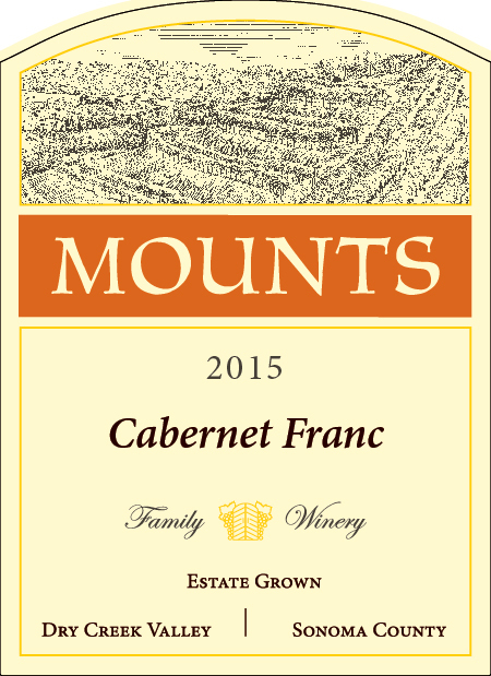 2015 Mounts Cabernet Franc, Estate Grown Product Image
