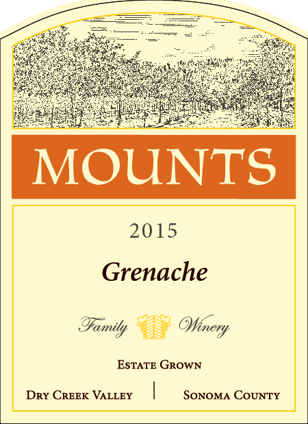 2015 Mounts Grenache, Estate Grown Product Image