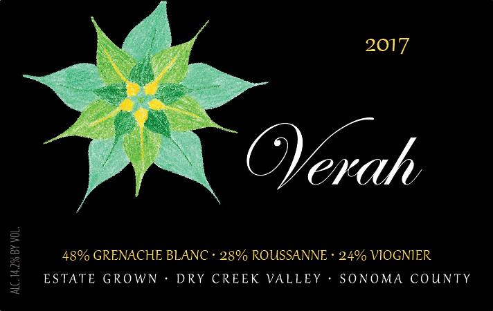 2017 Verah Rhône Style White Blend, Estate Grown Product Image