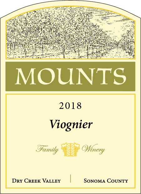 Product Image for 2018 Mounts Viognier Estate