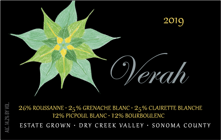 Product Image for 2019 Verah Rhône Style White Blend Estate Dry Creek Valley