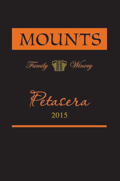 2015 Mounts Petasera, Petite Sirah, Estate Grown Product Image